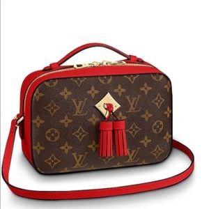 Louis Vuitton Saintonge! New Condition!